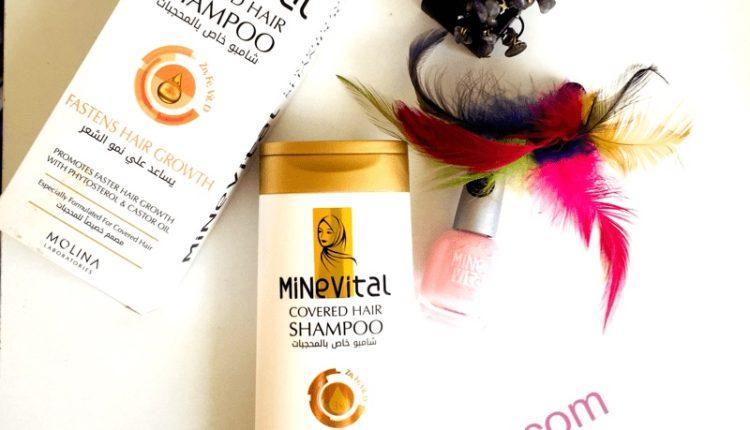 Minevital Tesettürlü Bayanlara Özel Helal  Şampuan